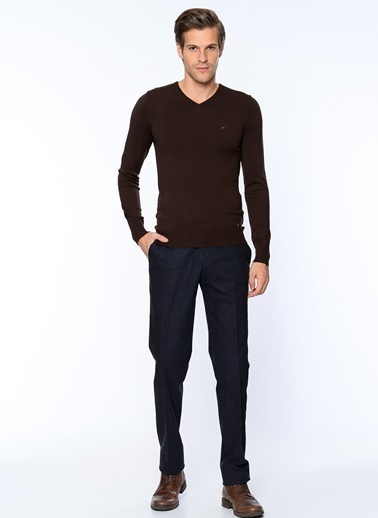 Slim Fit Kanvas Pantolon-Wessi